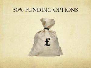 50% Funding Options